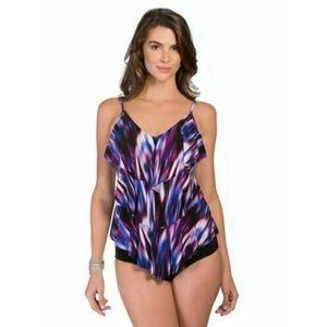 Magicsuit by Miraclesuit Women Size 8 Purple Blue